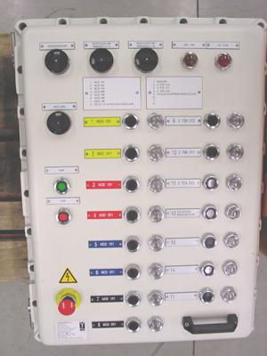 Control box ExdIIB